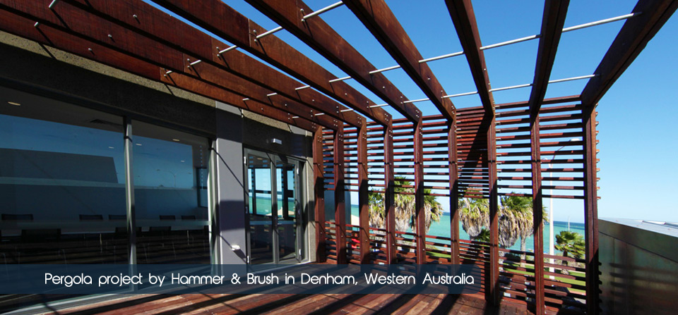 Pergola Structure in Denham