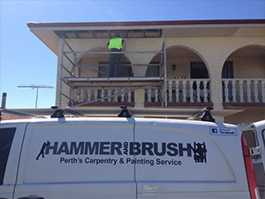 Perth Doors installed by Hammer and Brush