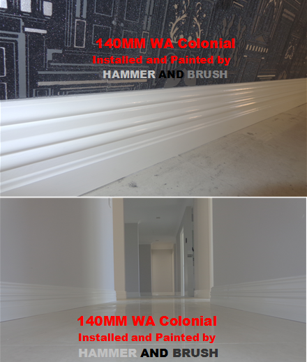 140mm WA Colonial Skirting Boards Perth