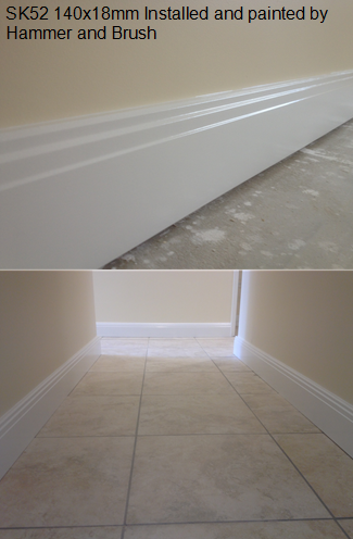 SK52 140x18mm Skirting Boards Perth
