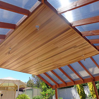 Cedar Lining Perth For Outdoor Areas Al Frescos Eaves Etc