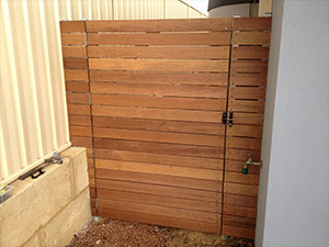 Custom Gate Solutions by Carpenters Perth