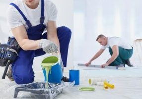 professional painters in Perth at work