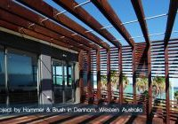Image of a pergola build in western Australia by Hammer and brush